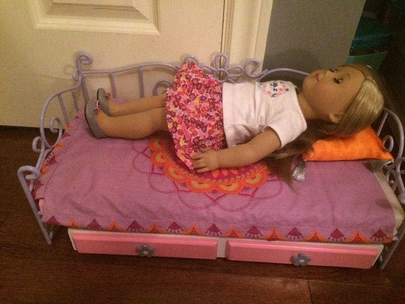 American Girl Doll Trundle Bed