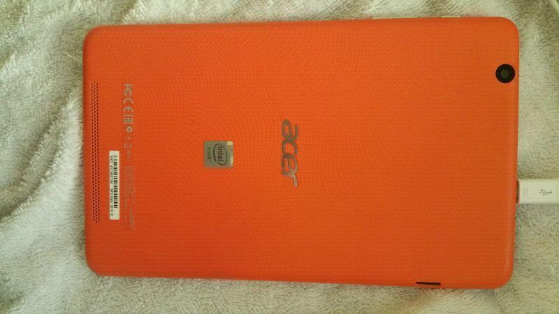8 inch acer tablet 75$ firm