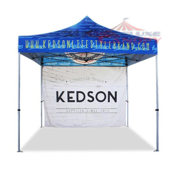 POP UP CANOPY TENTS, FLAGS, TABLE COVERS