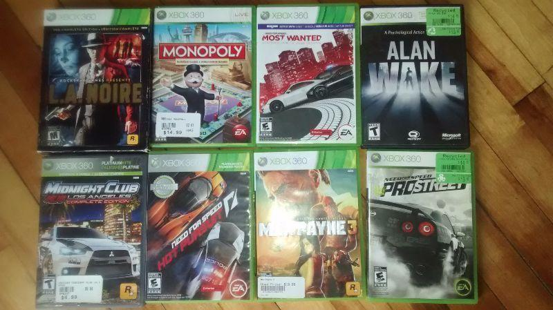 Games for sale, make an offer