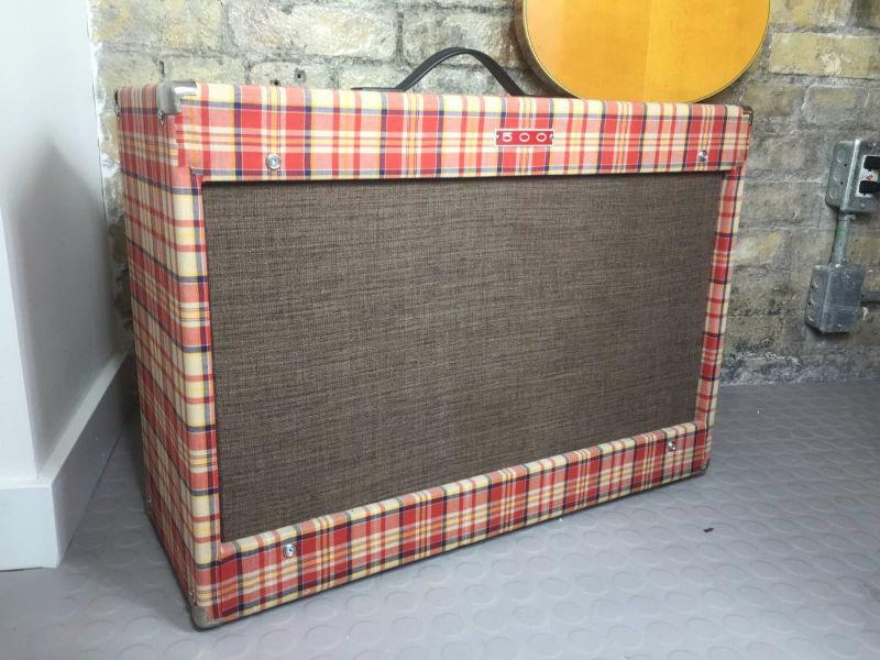 Custom Baby deluxe Reverb Tweed amp 500