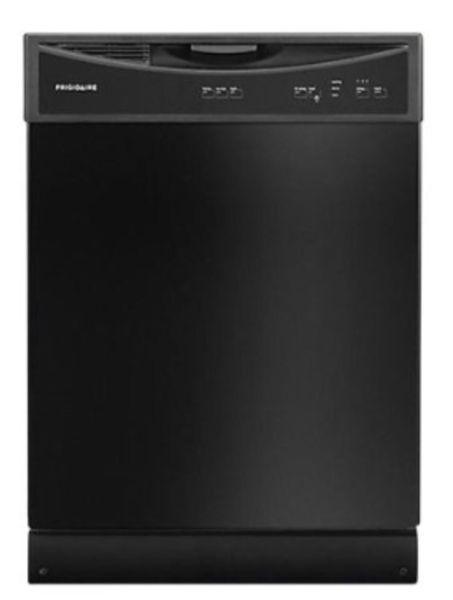 Brand new black Frigidaire dishwasher