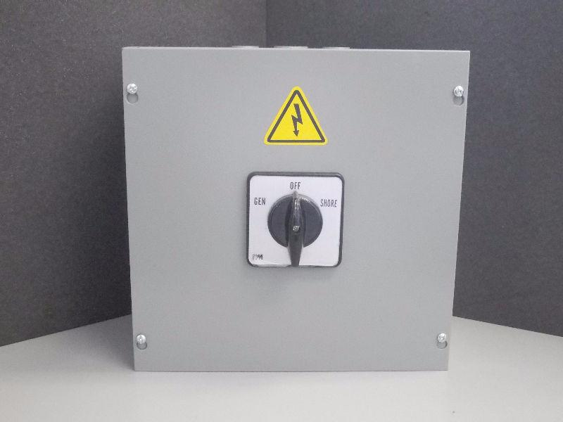 NEW Manual Transfer Switch - 3 position Rotary Cam Switch 100A