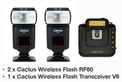 Cactus RF60 Wireless HSS / FP Flash