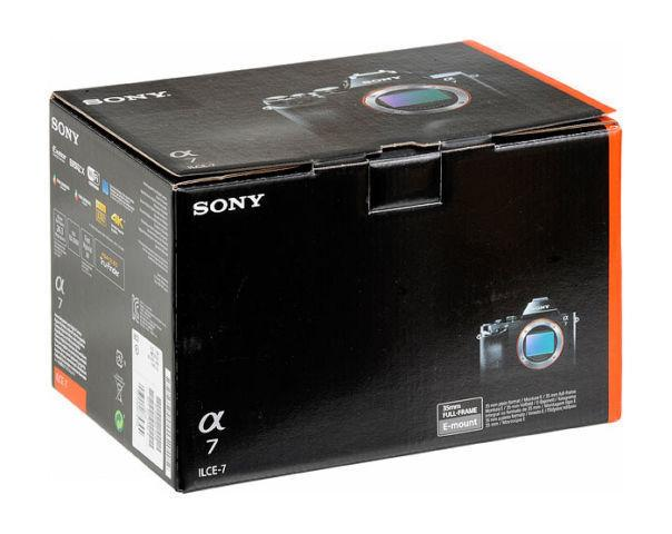 Sony Alpha A7 Mirrorless Camera with latest fw 3.1 - (SONY A7)