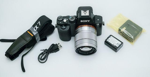 Sony Alpha A7 Mirrorless Camera with latest fw 3.1 - (SONY A7)