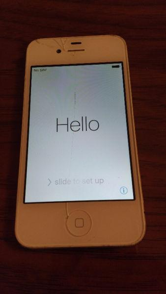 Unlocked White Apple iPhone 4S 16GB