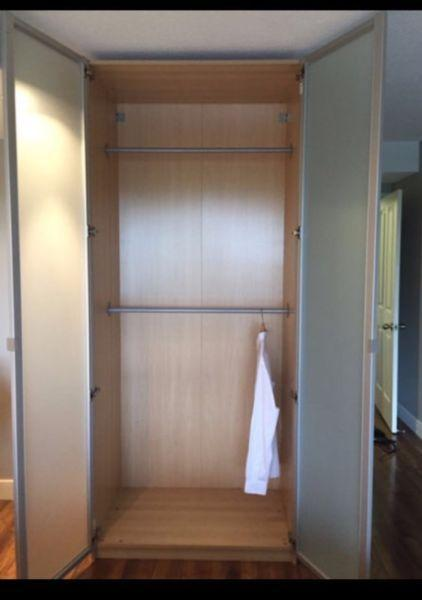 Pock up today! Priced to sell Ikea wardrobe