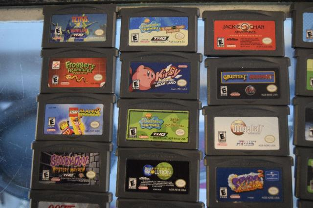 **GREAT DEALS!!** Assorted Gameboy Advance Games in Stock Now!!