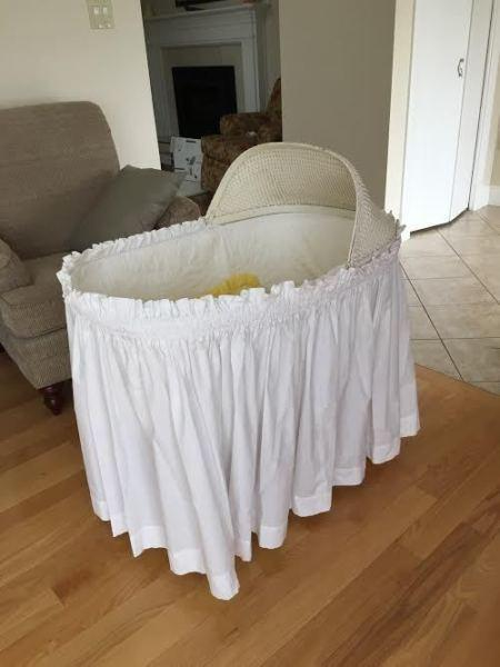 Lovely Vintage Bassinet - good condition