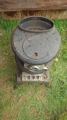 Decorative Cast Iron Pot Belly Stove