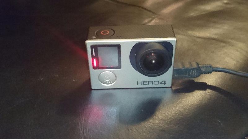 GoPro Hero 4 Silver - $250 o.b.o
