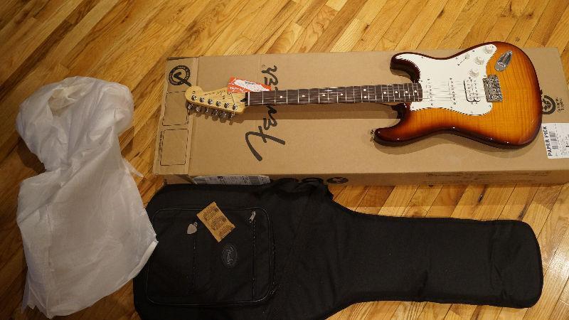 AUBAINE Guitare Fender Deluxe Stratocaster NEUF