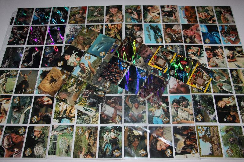 THE CROCODILE HUNTER-COLLECTION-CARTES/CARDS-BASE SET+SPECIALS