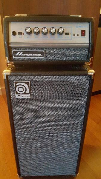Ampeg Micro VR with 2x10 cab