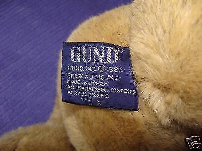 1983 COLLECTORS CLASSIC GUND BUNNY