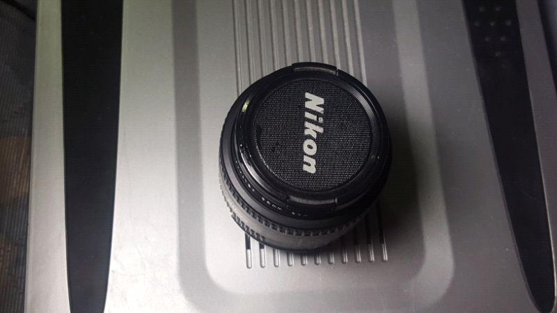Nikon 50 mm 1.8D