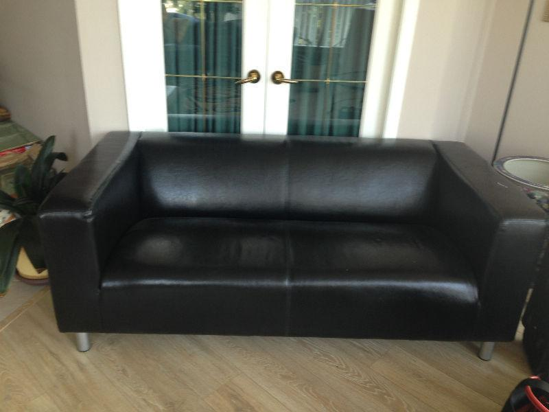 artificial leather sofa (price reduce for urgent sale)