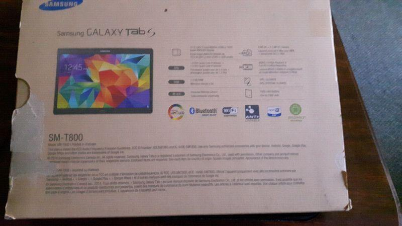 Samsung Galaxy Tab S 10.5 inch mint condition