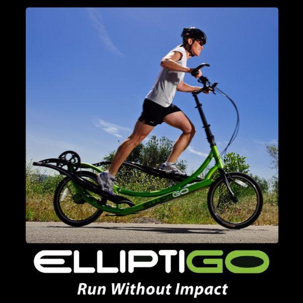 Enjoy the Elliptical Outside! ElliptiGO! Fun & Fitness!