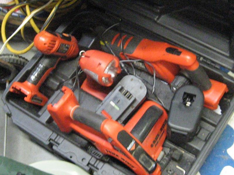 Black & Decker 18V Firestorm Drill /Saw set