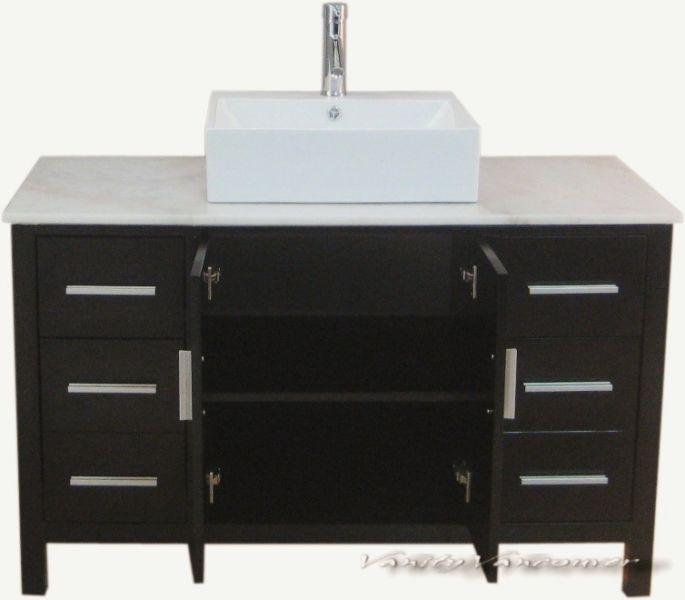 ⎷⎛Contemporary Bathroom Vanity & Cabinet Blazing Jewel BB48