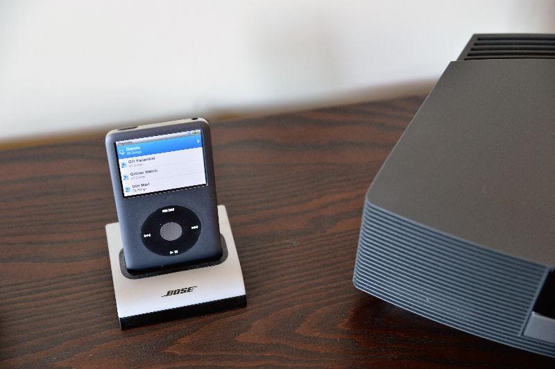 Bose Wave Radio II with IPod Dock