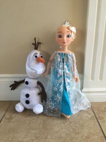 Princess & Me Elsa and Talking Olaf