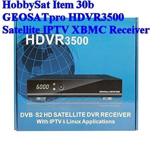 GEOSATpro HDVR3500 PVR IPTV XBMC WiFi Sat Receiver media player