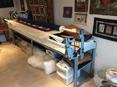 INSPIRA LONGARM QUILTING FRAME and MEGA QUILTER