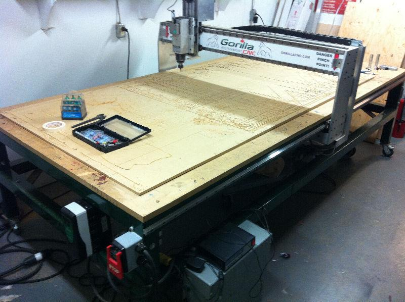 4'x 8' CNC Router Table For Sale