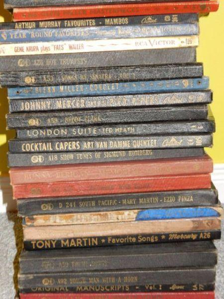 150 jazz records 78rpm and box sets