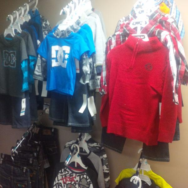 KIDS BRAND NAME CLOTHING BUSINESS FOR SALE