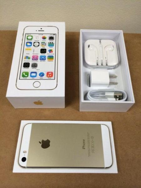 GOLD IPHONE 5S 16gb / 32 gb - BELL / VIRGIN - new - BUY OR TRAD