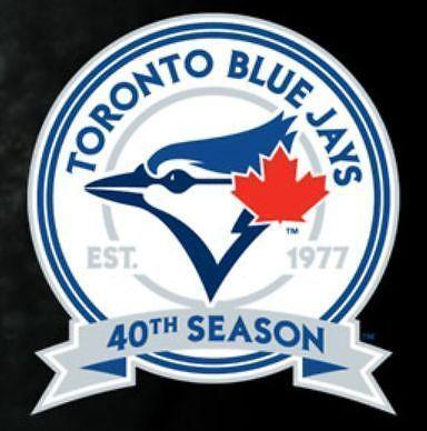 BLUE JAYS TICKETS - SEC 115L, ROW 10 - SEPTEMBER