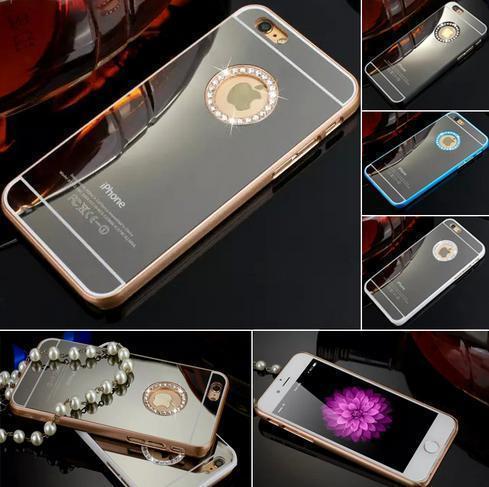 IPHONE 6/6S/6PLUS/6S PLUS MIRROR LUXURY CASE $15