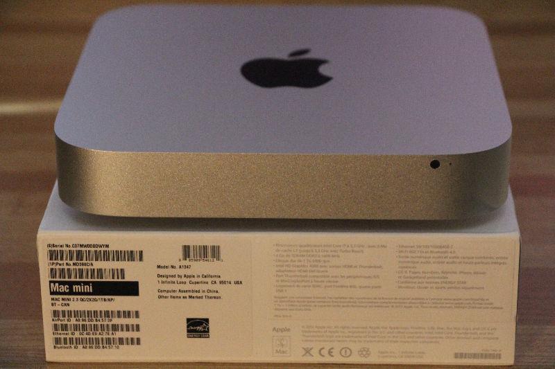 mac mini i7 de apple