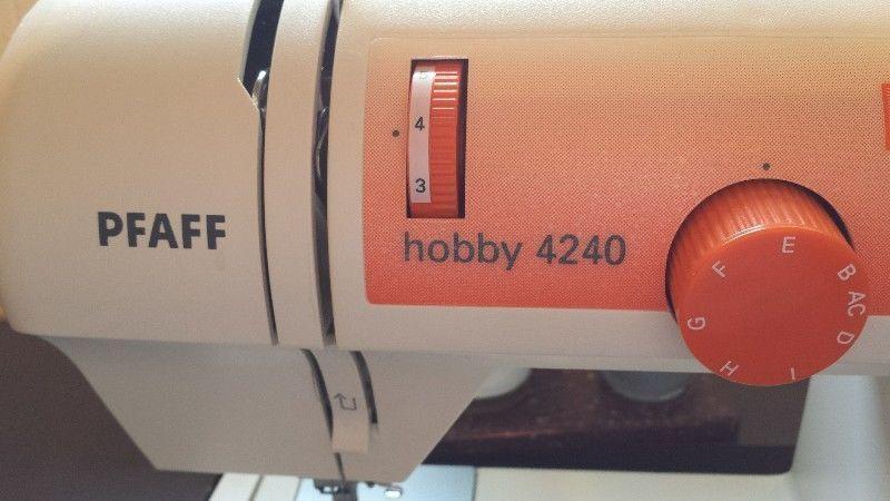 pfaff hobby machine