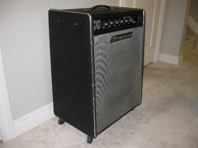 TRAYNOR YBA-4 Bassmaster Vintage Tube Type Bass Combo Amp