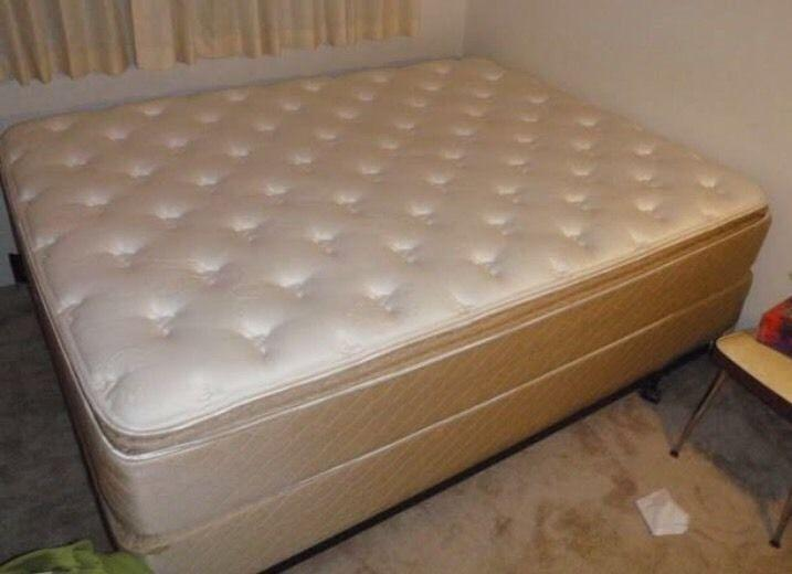 King size pillow top mattress $199 firm. Free delivery