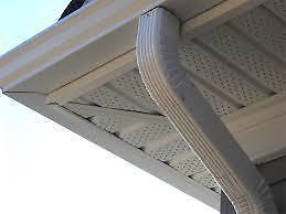 EAVESTROUGH (GUTTERS ) AND DOWNSPOUTS SPECIAL @ 4.00