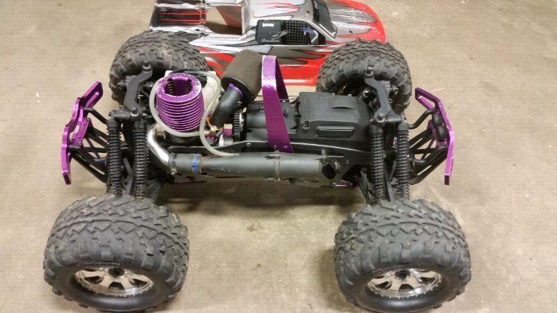 Rc trucks and parts for sale