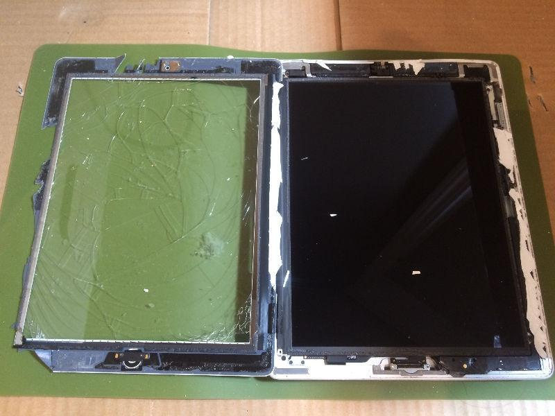 [SpeedJOBS] Professional iPad Repair / Recover Bent Corner, Wall