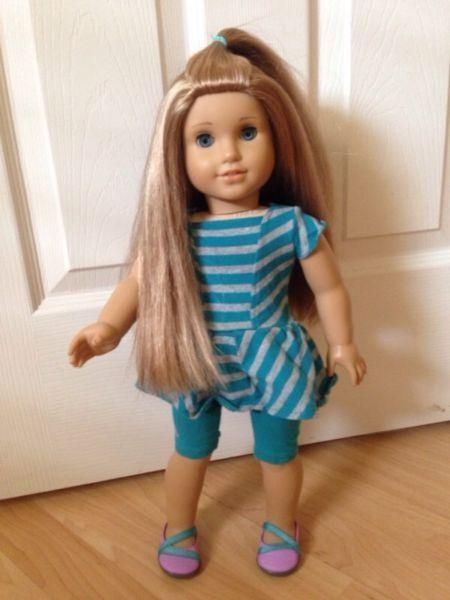 American Girl Doll McKenna & Clothing