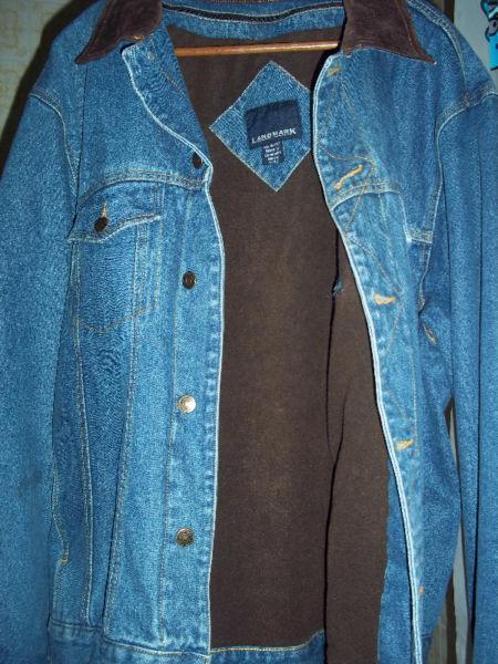 Landmark jeans jacket
