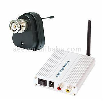 New Mini AV Transmit Receiver 12V 2.4GHZ 100M,Wired to Wireless!