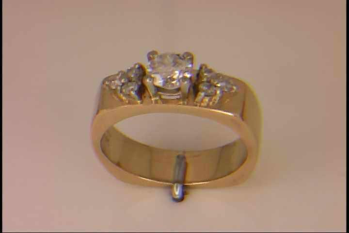 Beautiful custom made engagement ring