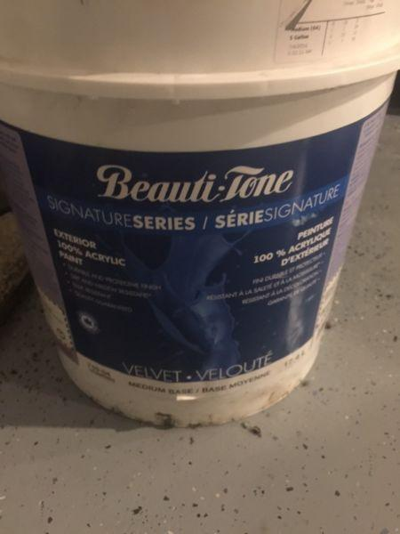Beauti-tone Exterior Paint 5 Gallon