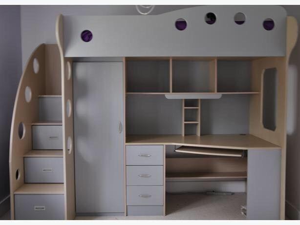 JYSK NIKA Children's Loft Bunk Bed