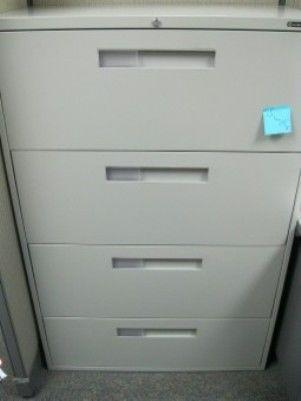 Global 3 or 4 drawer lateral file cabinet (9 available)